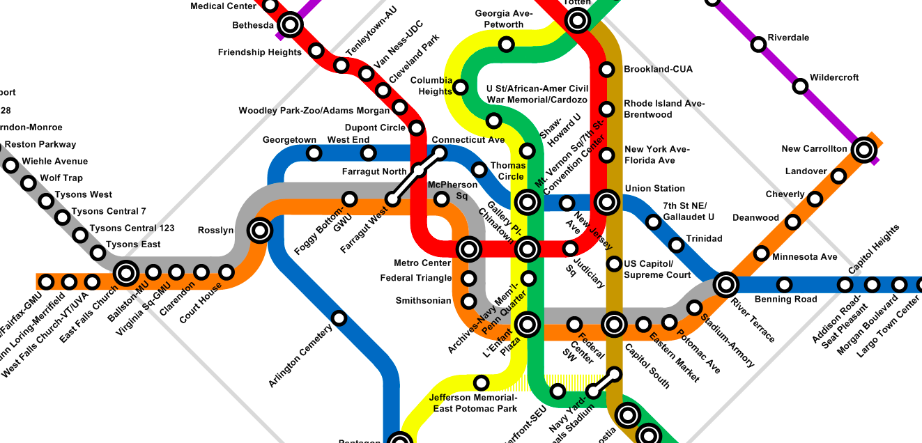 Metro Dc Map 2016 | Global Map on